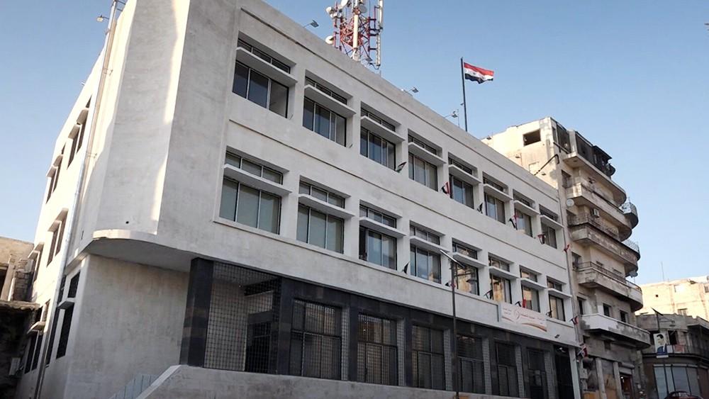 Здание телеграфа в Сирии