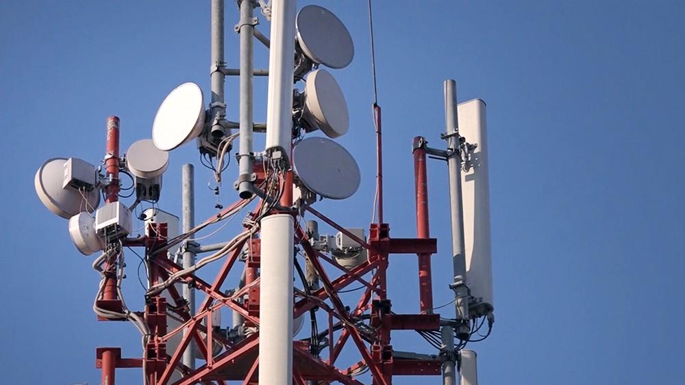 Антенны на здании