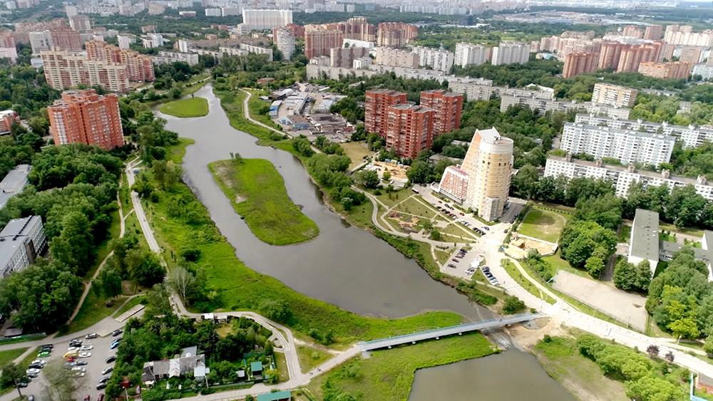 Парк в черте города