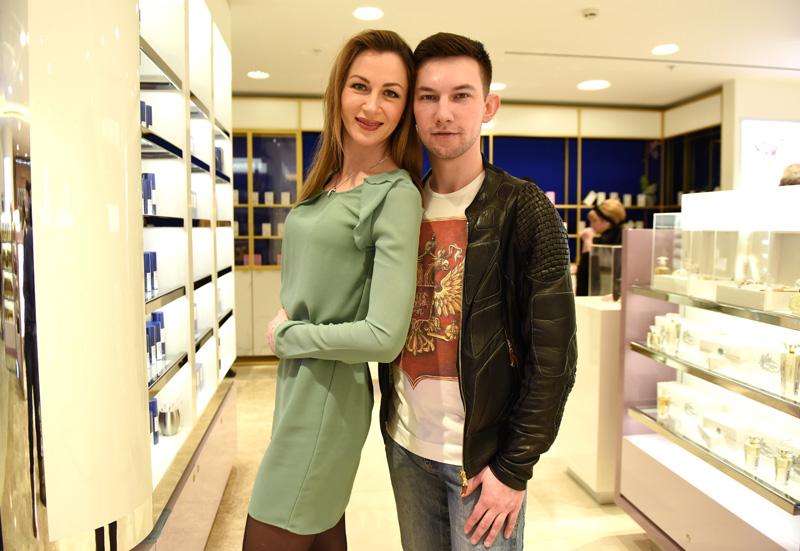 Актер Кирилл Емельянов с супругой Екатериной Директоренко