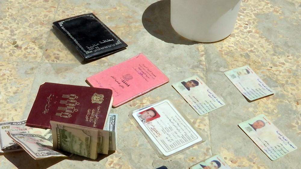 Задержанные диверсанты в Сирии