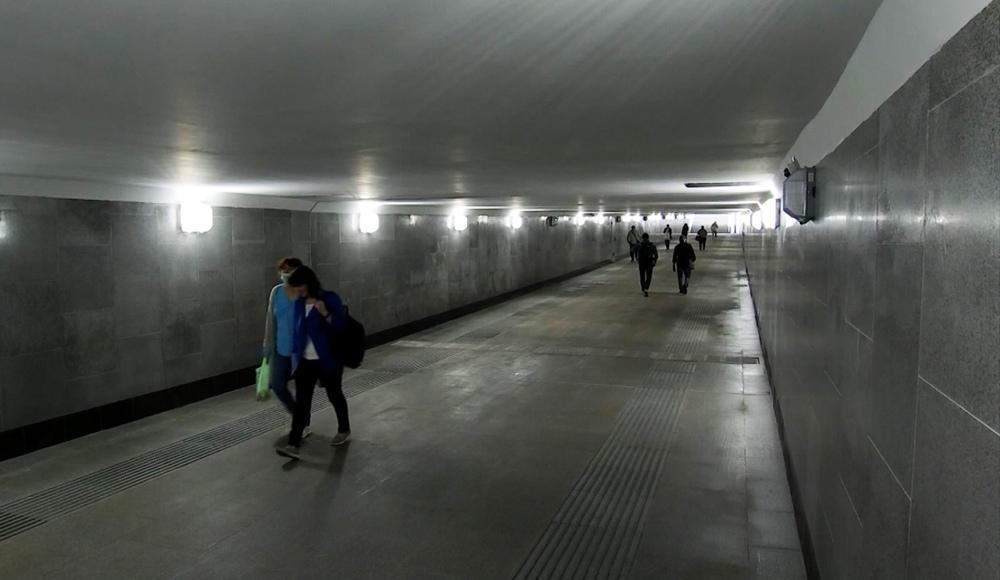 Подземный переход в Марфино