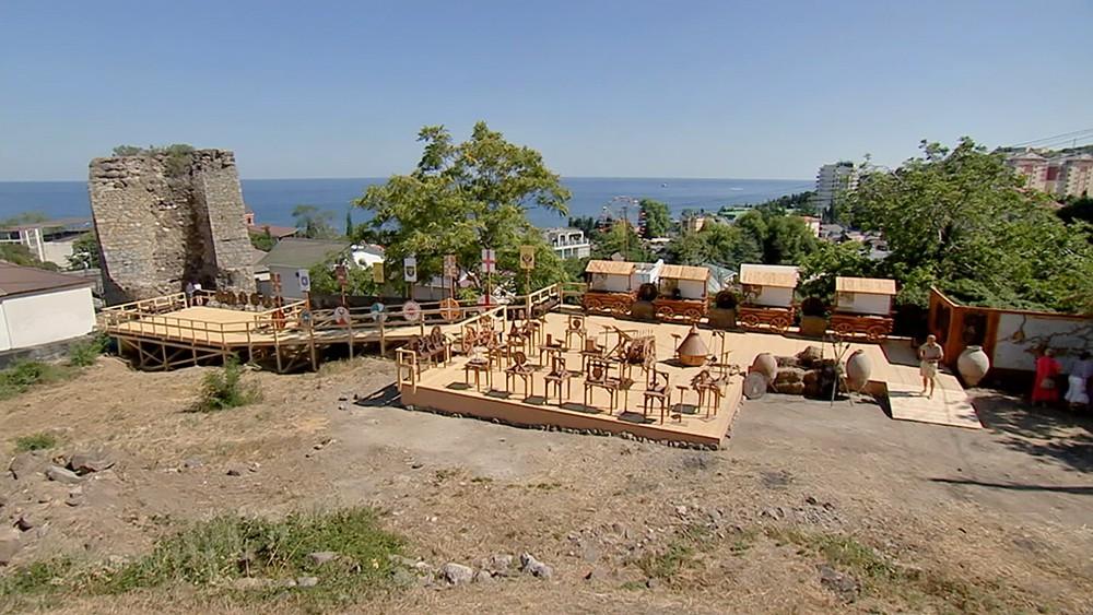 Алустон в Крыму