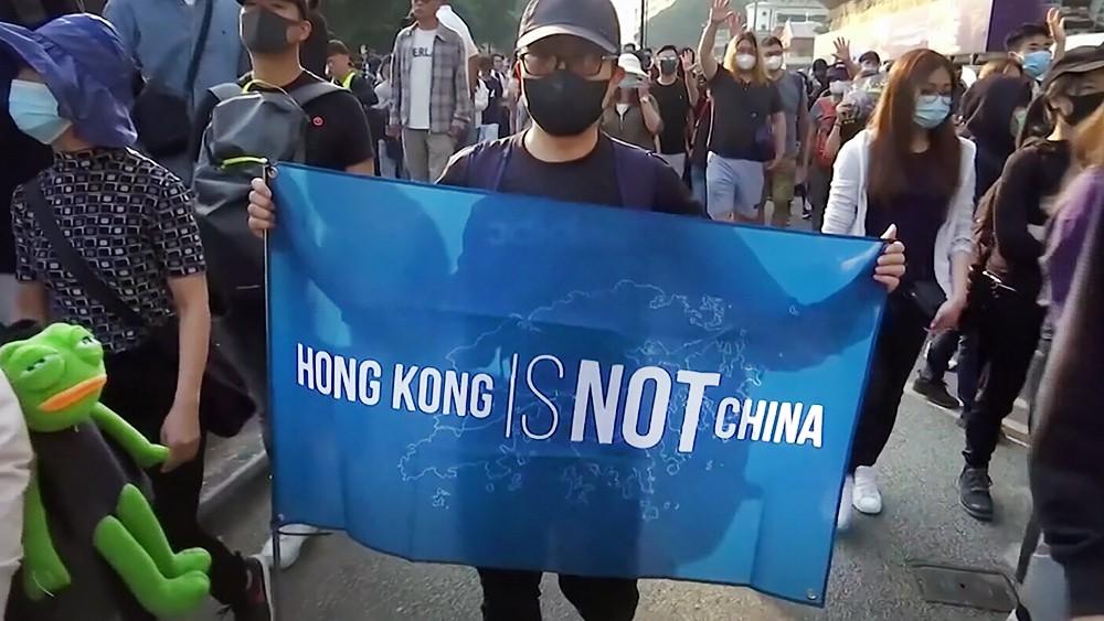 Митинг в Гонконге