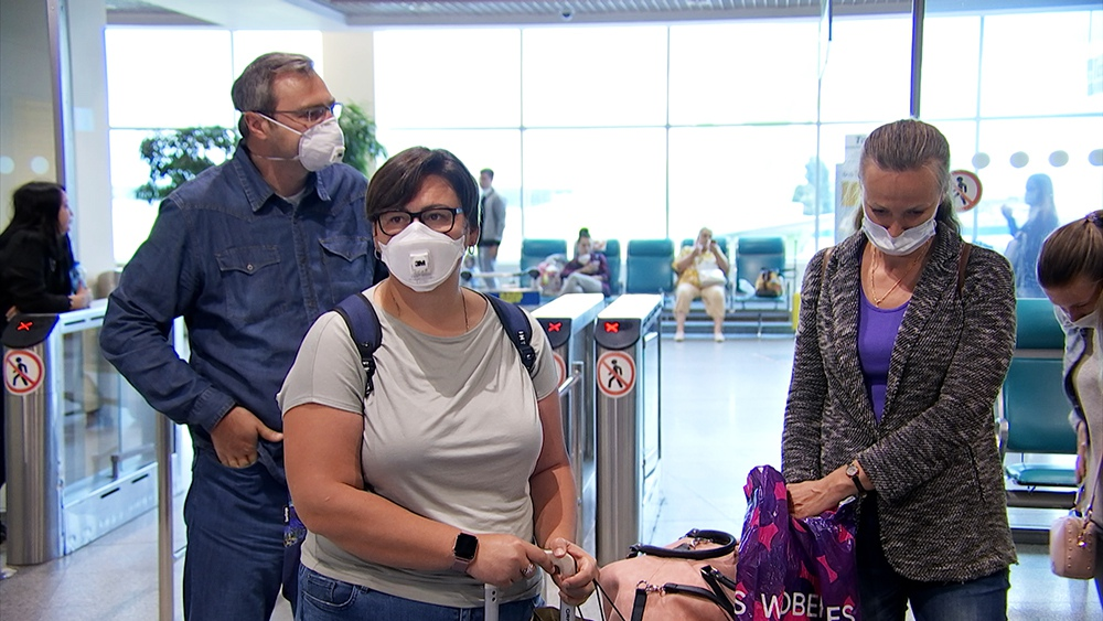 Встреча врачей в аэропорту