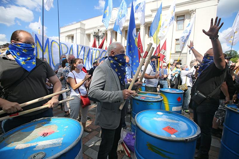 Протесты на Украине