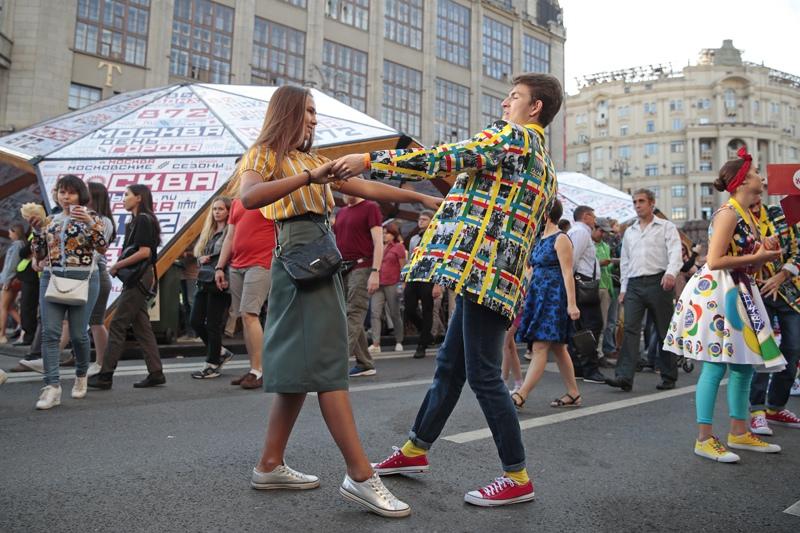 Празднование Дня города Москвы