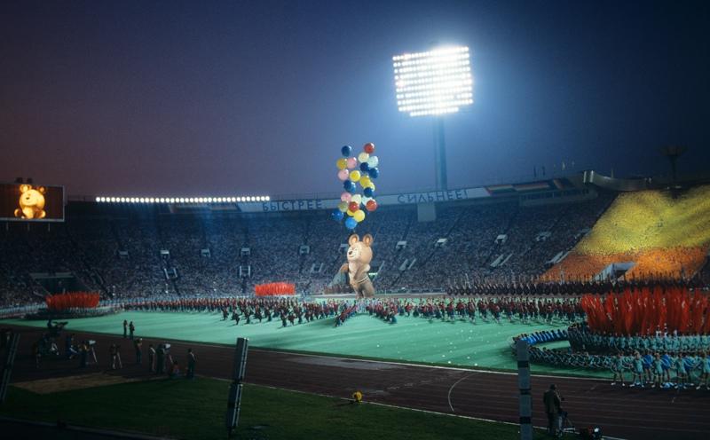 Закрытие Олимпиады в Москве, 1980 год