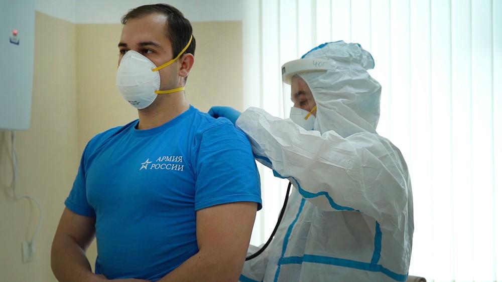 Испытание вакцины от коронавируса