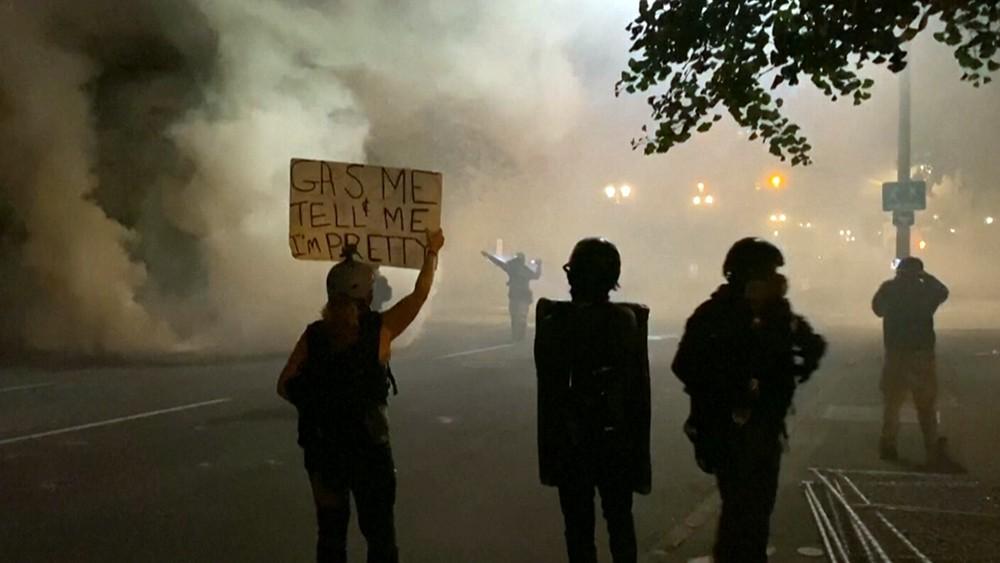 Беспорядки в Портленде