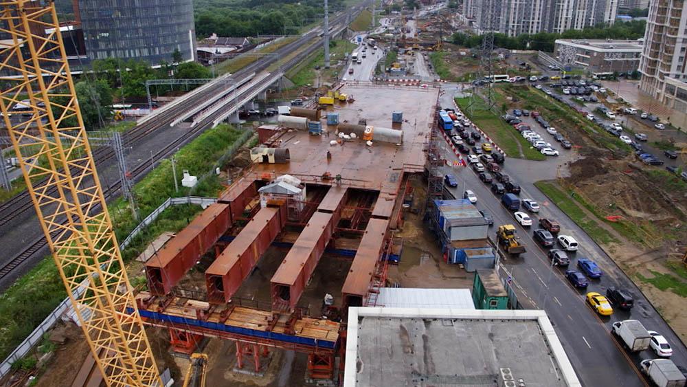 Строительство транспортной хорды
