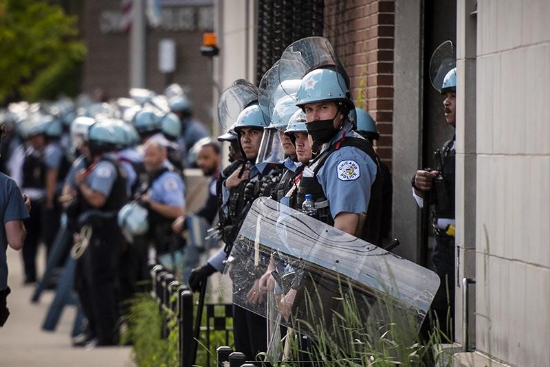 Полиция США в Чикаго