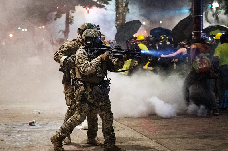 Федеральная полиция в Портленде