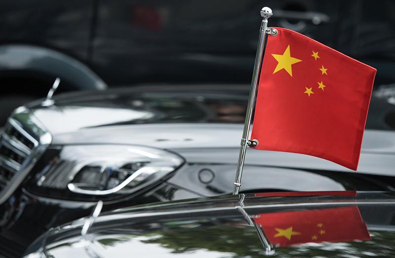 Автомобил представителей КНР