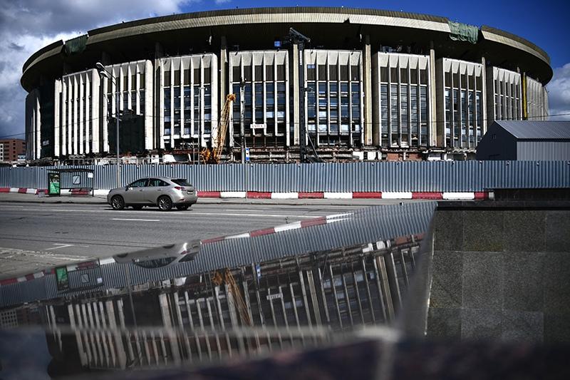 "Реконструкция спорткомплекса ""Олимпийский"""
