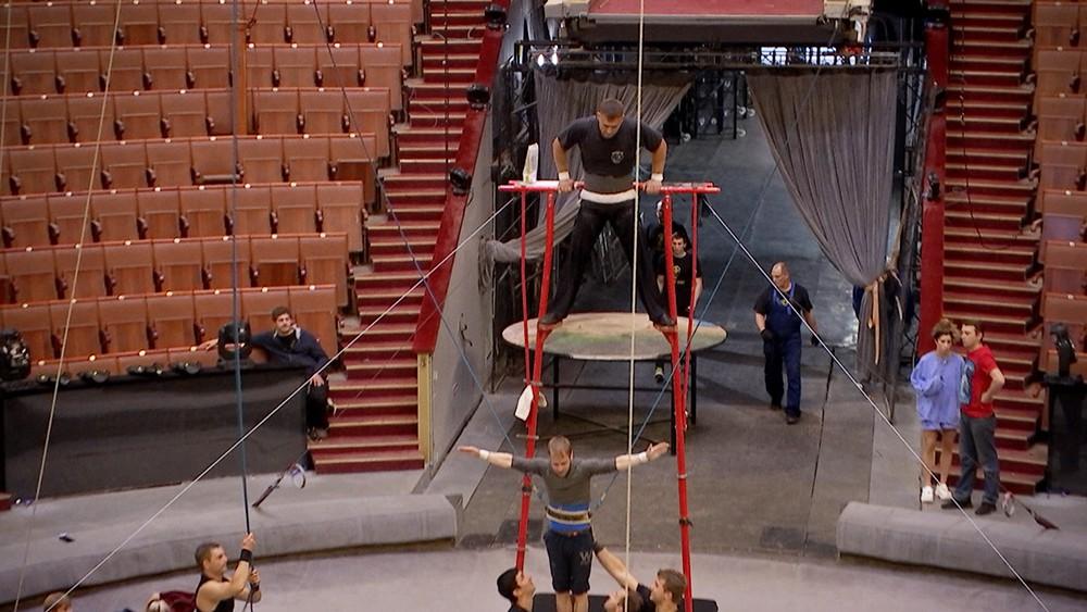 Репетиция в цирке
