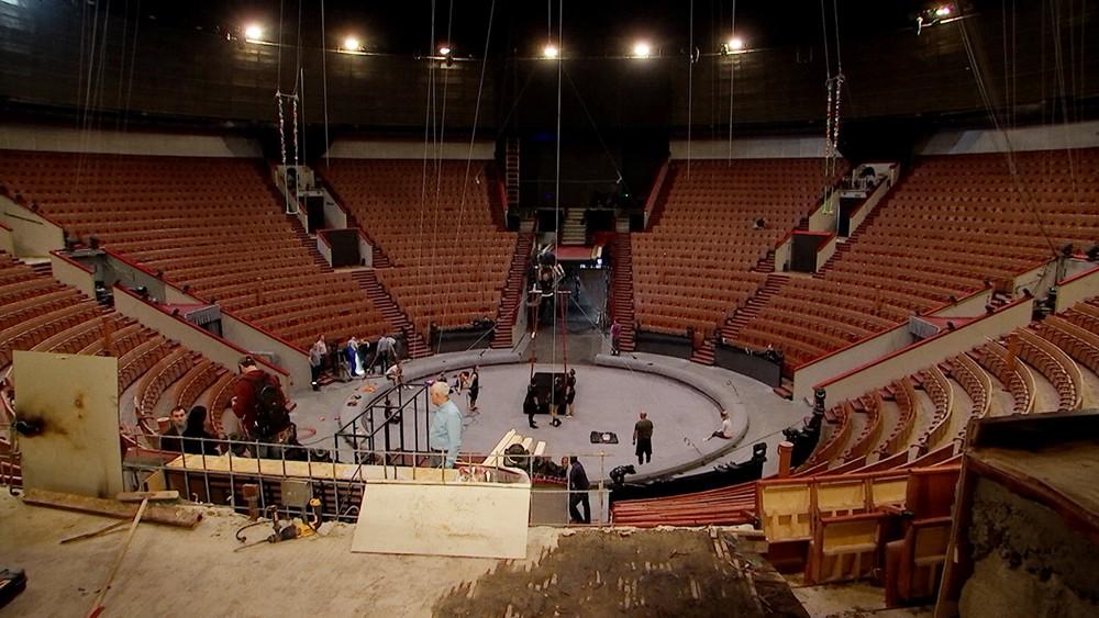 Реставрация в цирке