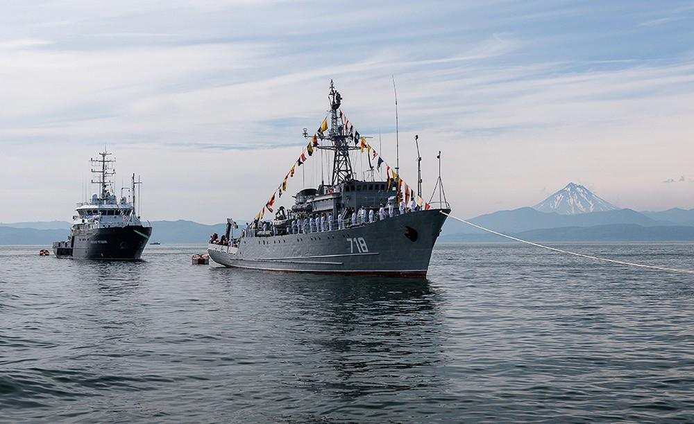 Парад ВМФ на Камчатке