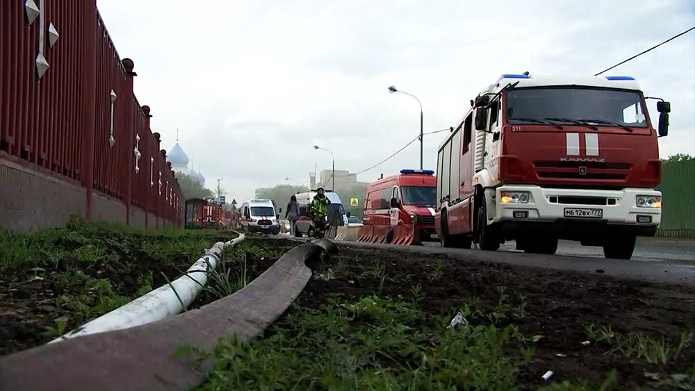 Пожар в московском СИЗО