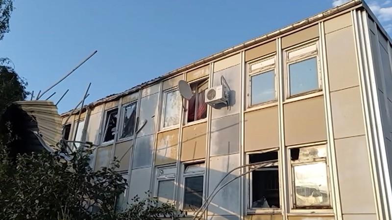 Последствия смерча с градом на Кубани