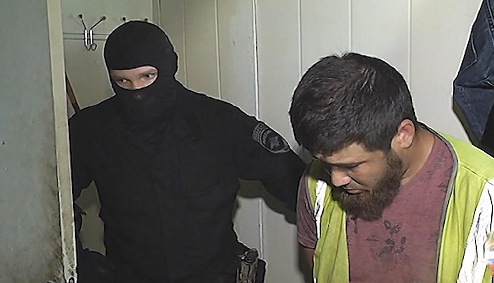 Задержание наркогруппировки