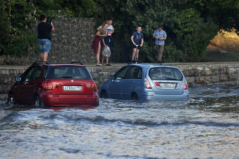 Наводнение в Краснодаре