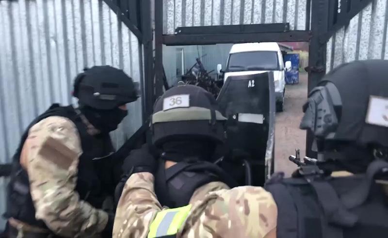 Спецоперация ФСБ России
