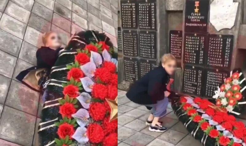 Осквернение мемориала в Пермском крае
