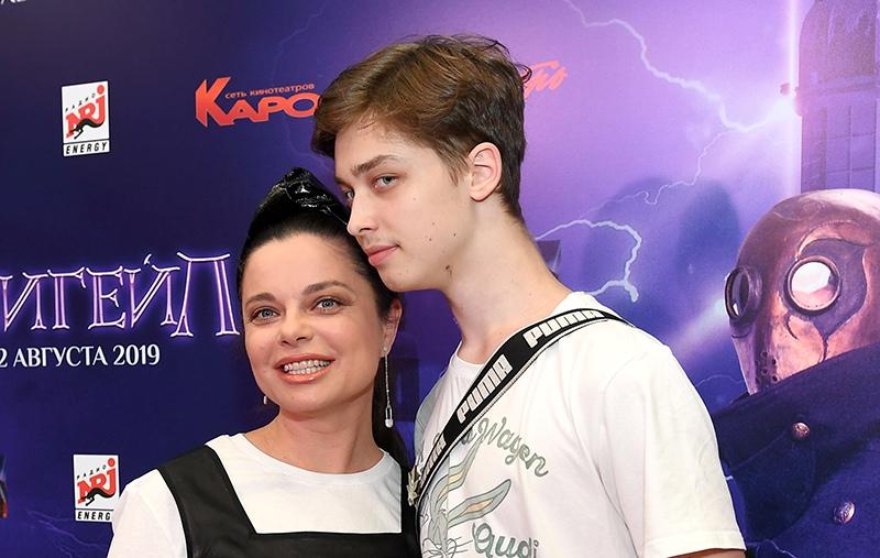 Певица Наталья Королева и ее сын Архип