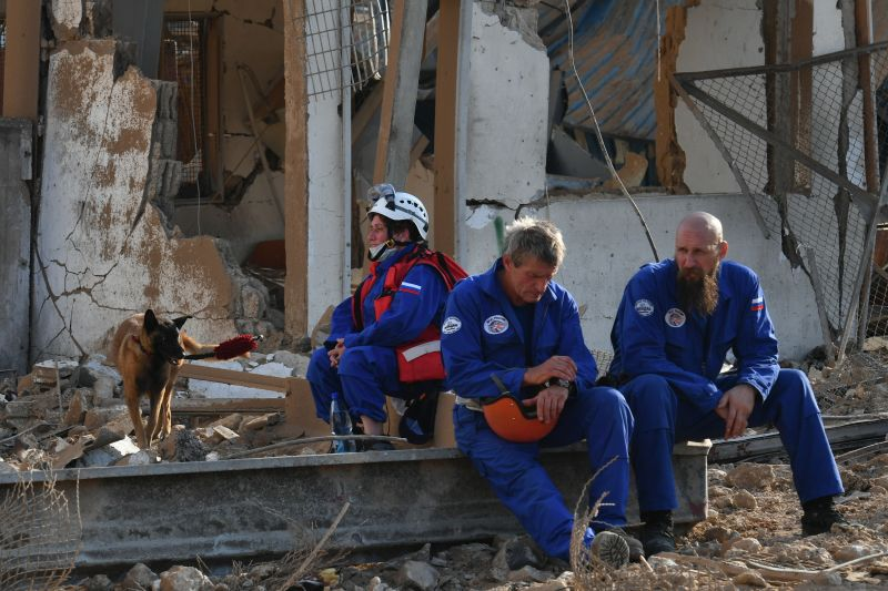 Российские спасатели в Бейруте
