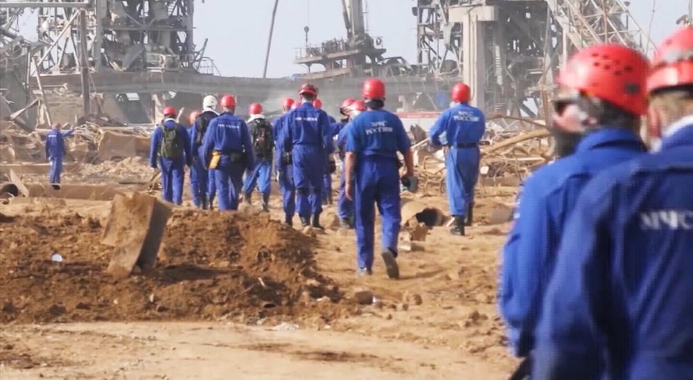 МЧС России в Бейруте
