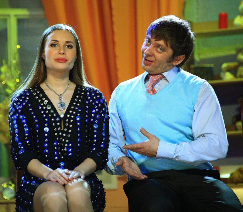 Юлия Михалкова и Дмитрий Брекоткин