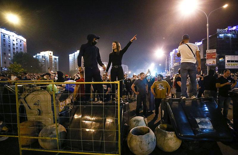 Беспорядки в Минске