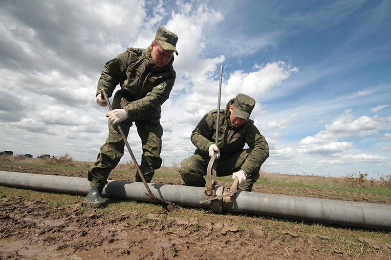 Укладка трубопровода в Крыму