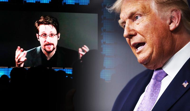 Эдвард Сноуден и Дональд Трамп