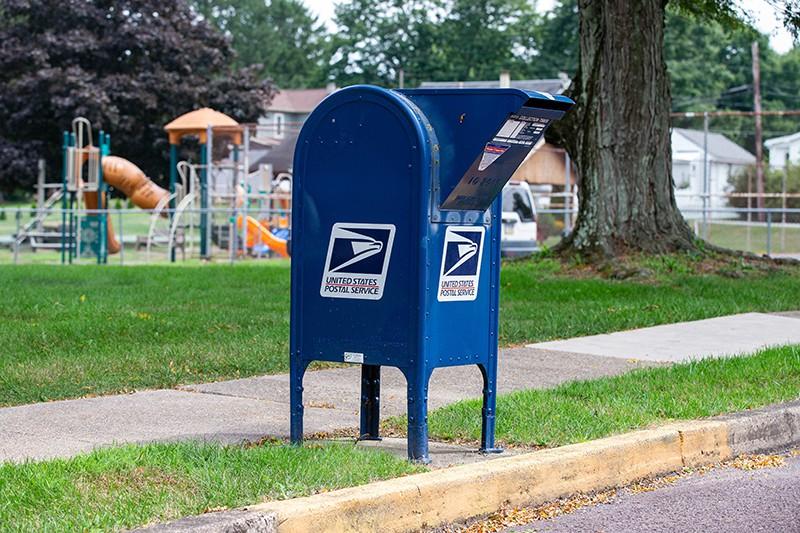 Почтовый ящик в США