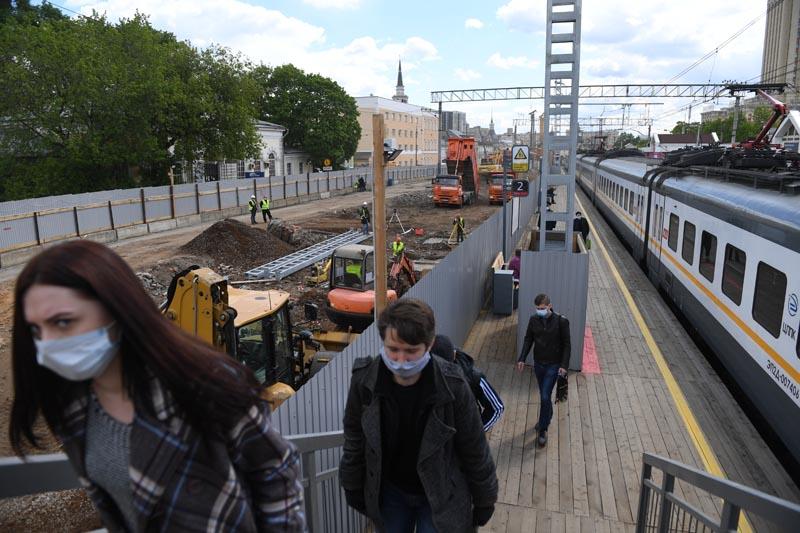 Реконструкция участка МЦД-2 от станции Каланчевская до Курского вокзала