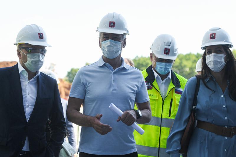Строительство медицинского кластера в Сколково