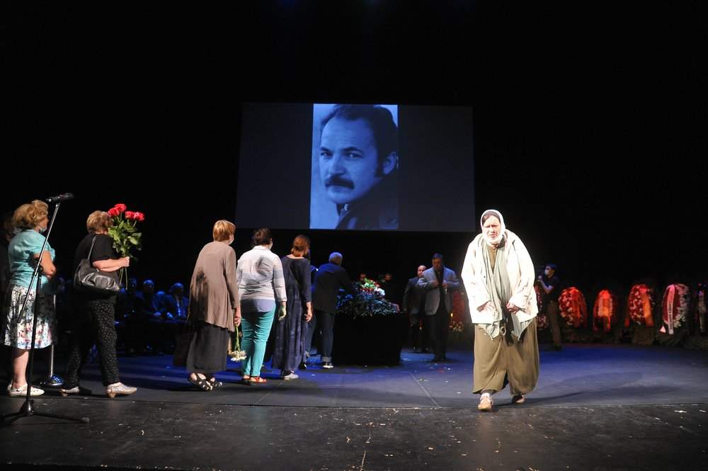 Церемония прощания с актером Николаем Губенко