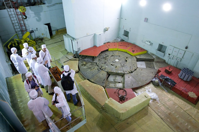 Первый атомный реактор. Город Обнинск