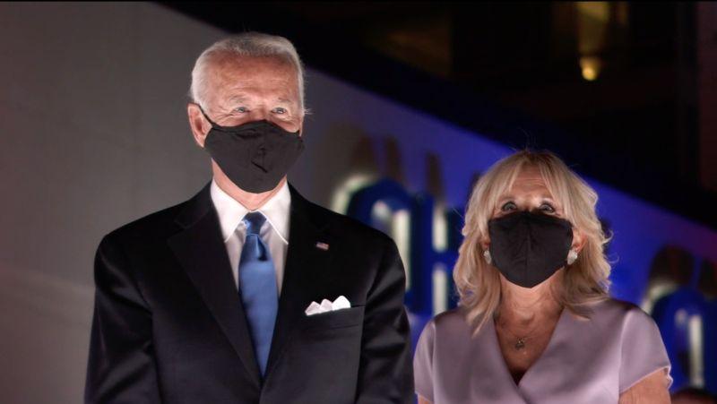Джо Байден с женой