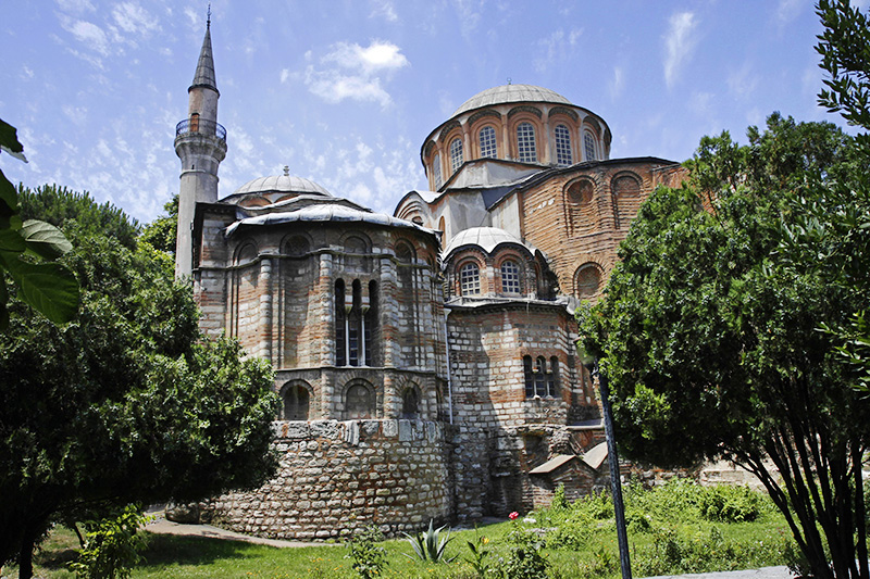 Монастырь Хора в Турции