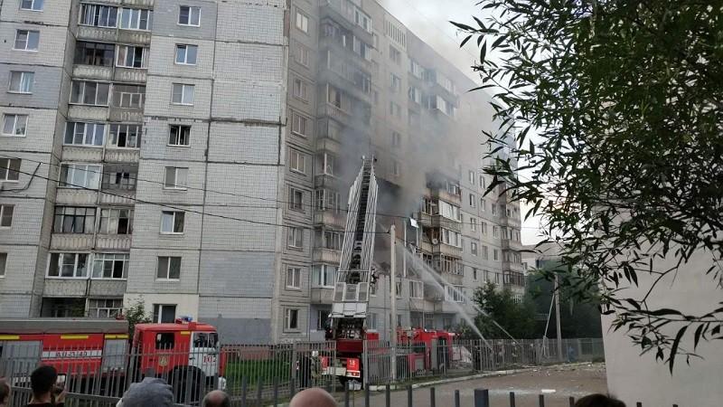 Взрыв газа в Ярославле