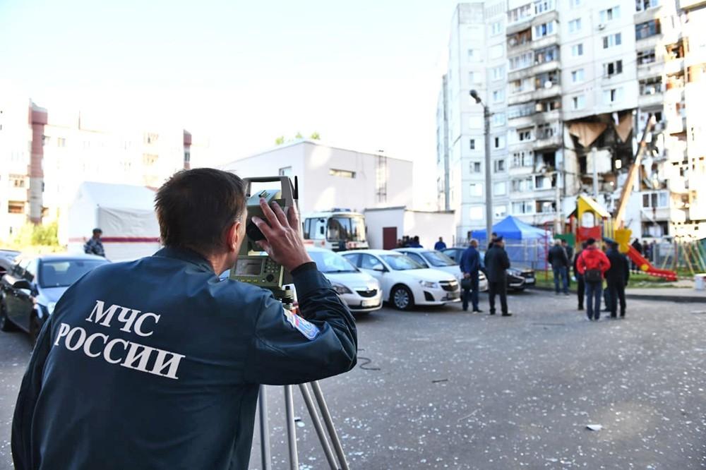 Последствия взрыва газа в жилом доме в Ярославле