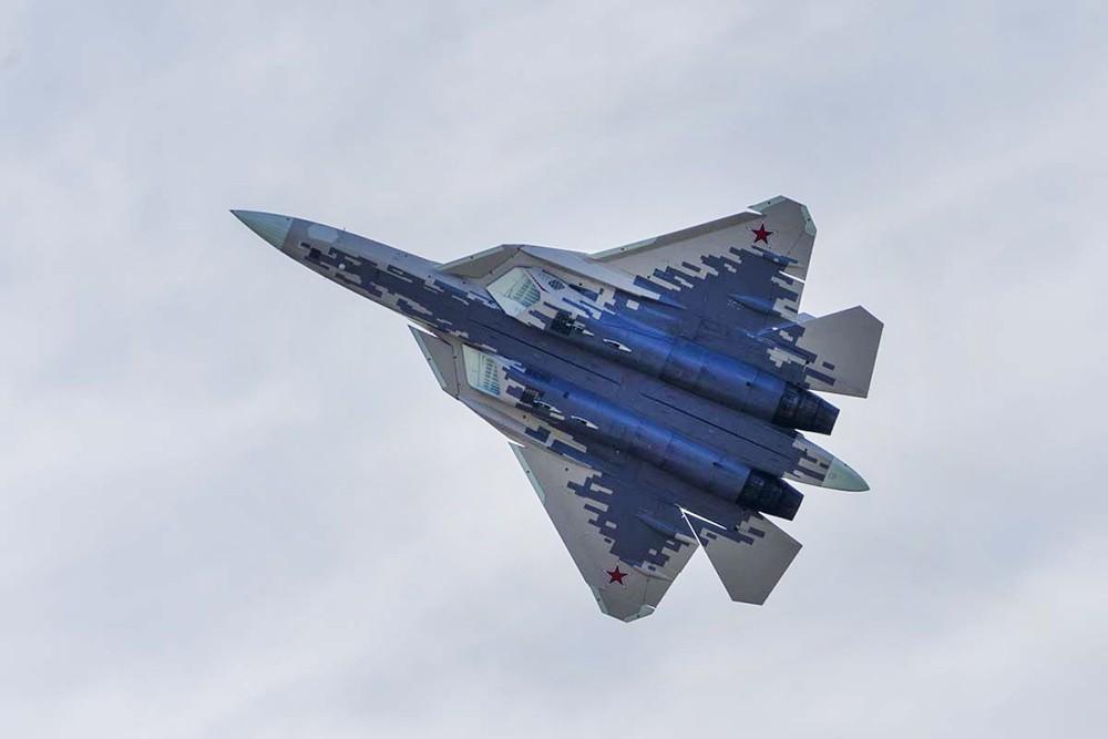 Истребитель Су-57 ВКС России
