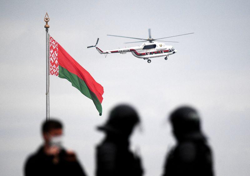 Вертолет президента Белоруссии
