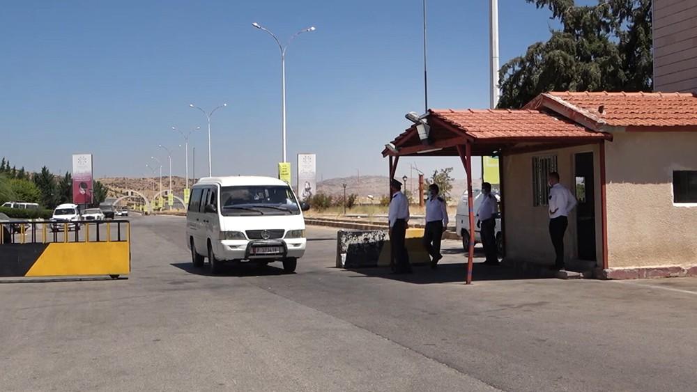 КПП на границе Сирии