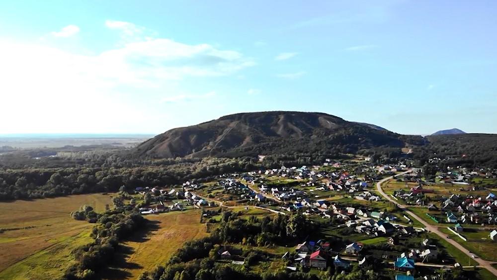 Гора Куштау в Башкирии