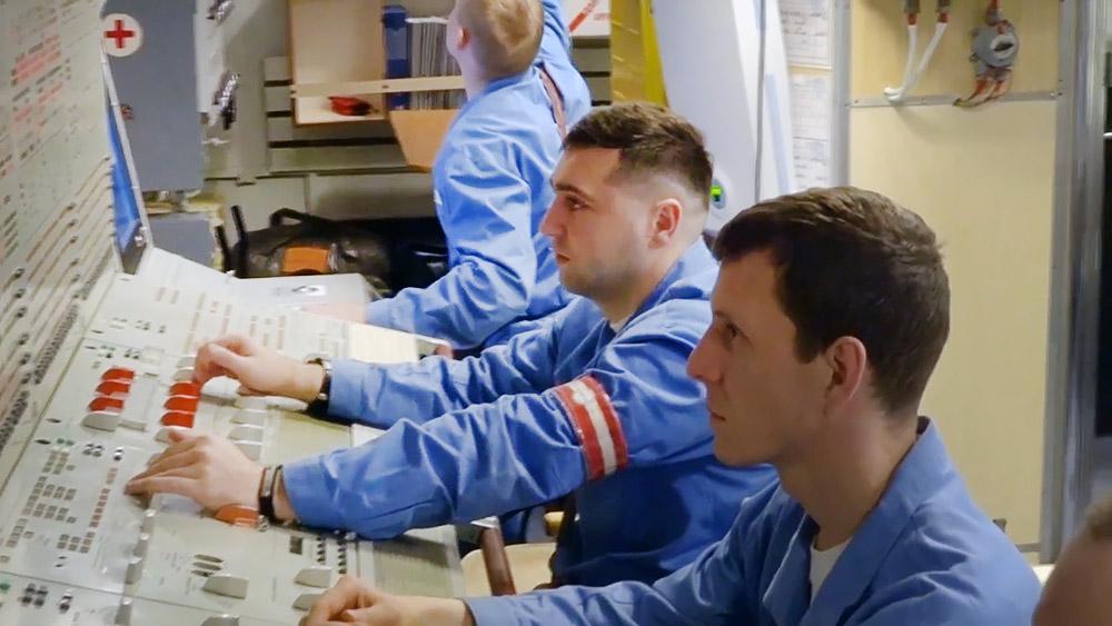 Экипаж подводной лодки ВМФ России