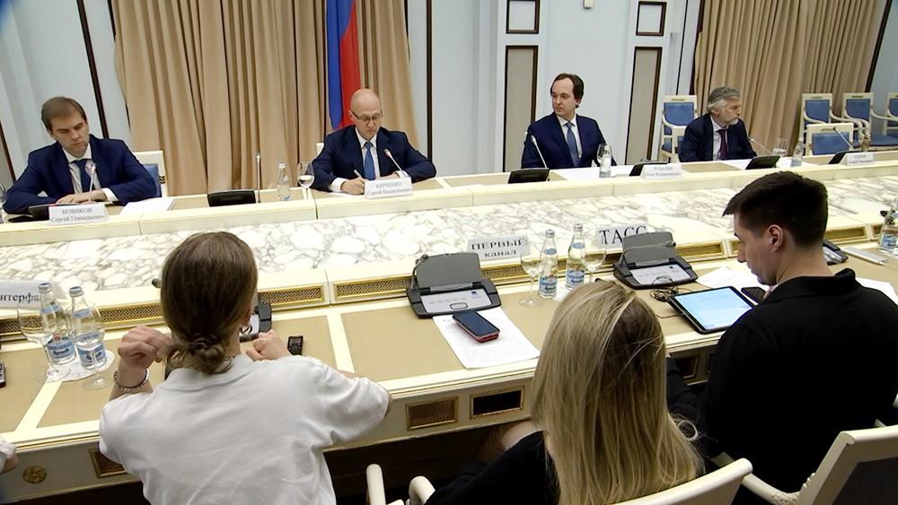 Сергей Кириенко на встрече с руководителями НКО